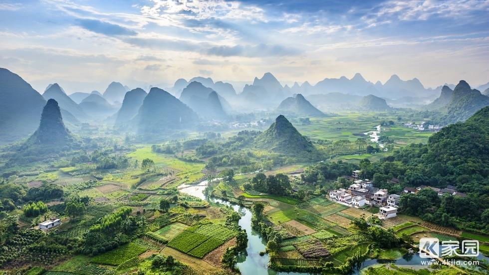 桂林山水自然风景4k电脑壁纸3840x2160_4k家园.jpg