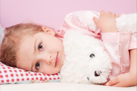 孩子,女孩,毛绒玩具,可爱图片