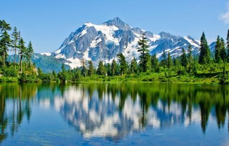 山水自然风景4k高清壁纸